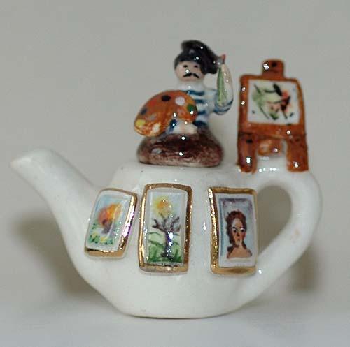 Artist teapot