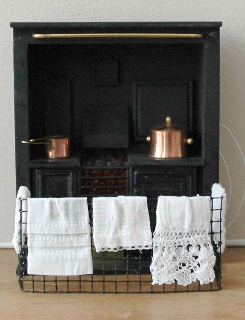 Stove with laundry