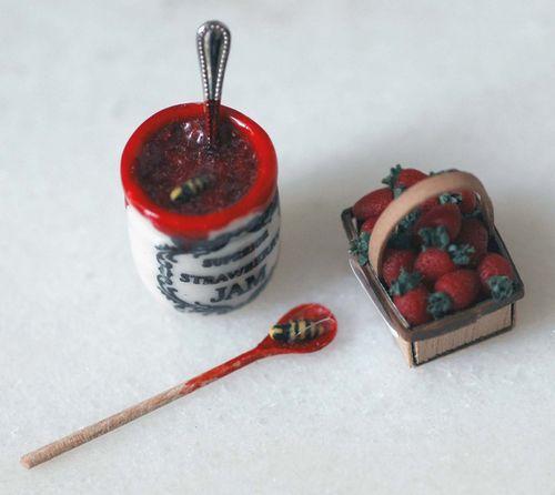 Strawberry wasps