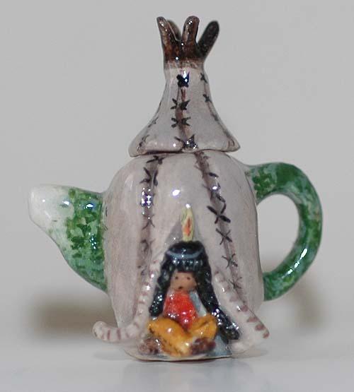 Wigwam teapot
