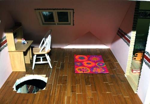 Crazy daisy rug